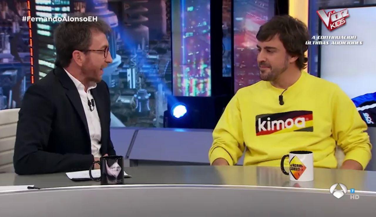La alucinante precisión de Fernando Alonso cuando habló sobre volver a la Fórmula 1 a Pablo Motos