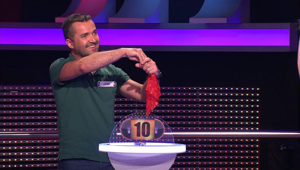 Arturo Valls se queda boquiabierto ante el truco de magia de este concursante