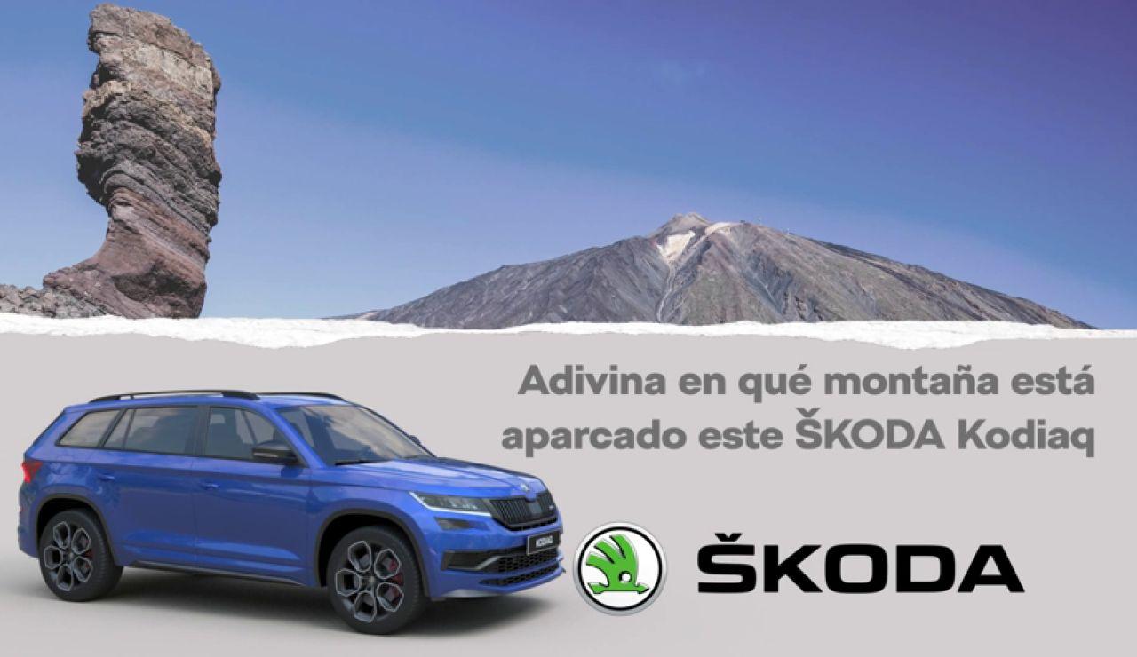 ¿En qué montaña de España está este ŠKODA Kodiaq?