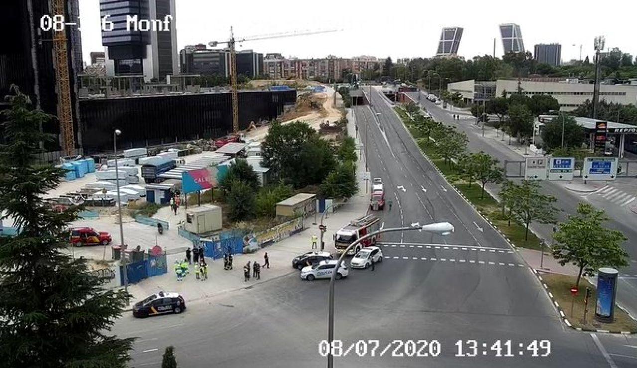 Desalojan las cuatro torres de Madrid por una fuga de gas