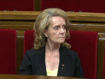 La consejera de Cultura de la Generalitat cree que se habla demasiado castellano en el Parlament