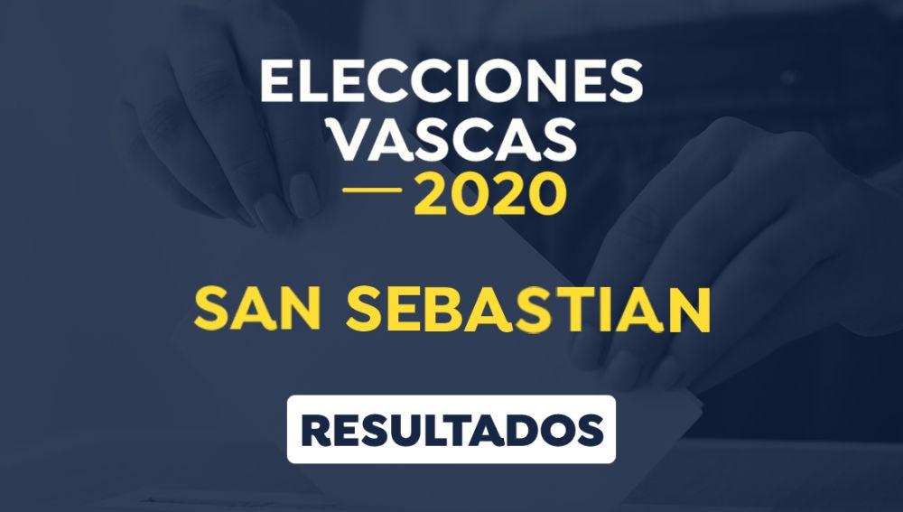 Elecciones País Vasco 2020: Resultado de las elecciones vascas en San Sebastián, Guipúzcoa