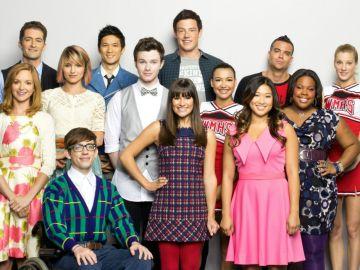 Los protagonistas de 'Glee' en su primera temporada