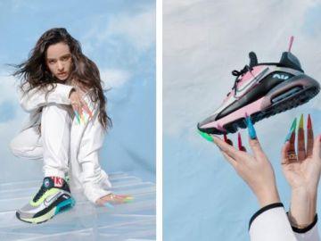 """Rosalía presenta las nuevas y futuristas zapatillas Nike Air Max 2090: """"El futuro no es algo que esperas"""""""