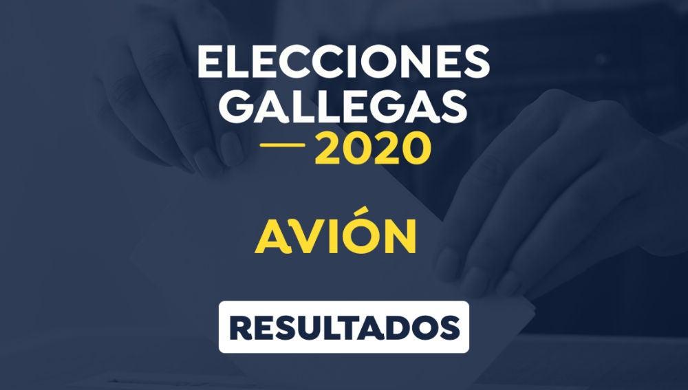 Elecciones Galicia 2020: Resultado de las elecciones gallegas en Avión, Ourense