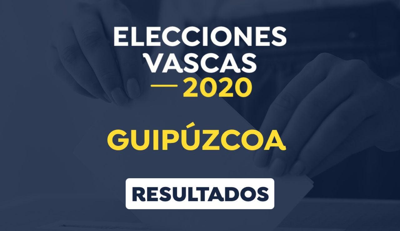 Elecciones País Vasco 2020: Resultado de las elecciones vascas en Guipúzcoa el 12-J