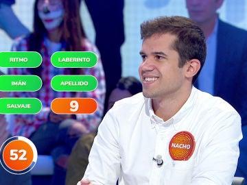 El impresionante pleno de Nacho en '¿Dónde Están?' descubriendo las palabras de 'Despacito' de Luis Fonsi
