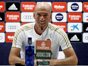 """Zidane: """"La prueba de coronavirus a Vinicius salió mal, vamos a repetirla"""""""