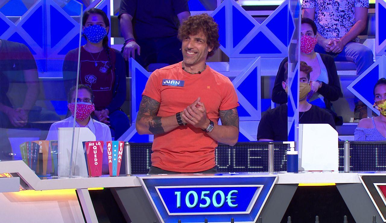 La difícil decisión de Juan en 'La ruleta de la suerte' tras caer en el gajo más difícil