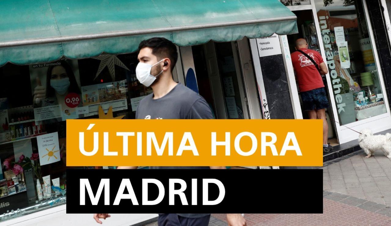 Madrid: Rebrotes de coronavirus, datos y noticias de hoy viernes 10 de julio, en directo | Última hora Madrid