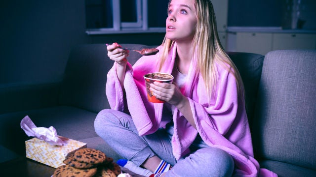Comiendo dulces