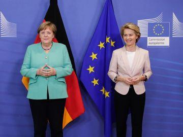 Angela Merkel y Ursula Von der Leyen