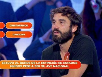 """Álex García, estresado durante la prueba 'Una de Cuatro': """"Estaba empezando a no escucharte y a no leer"""""""