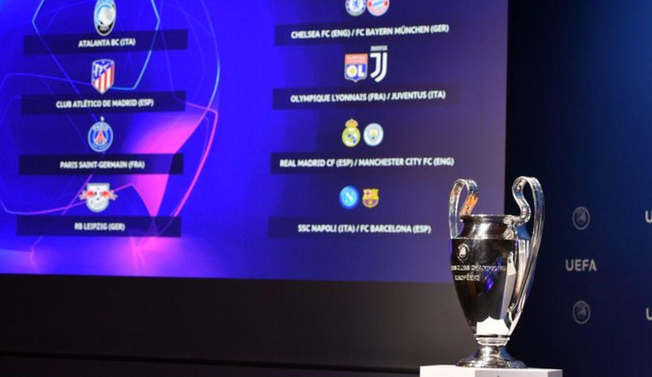 Sorteo Champions League 2020: Cruces y emparejamientos de cuartos, semifinales y final
