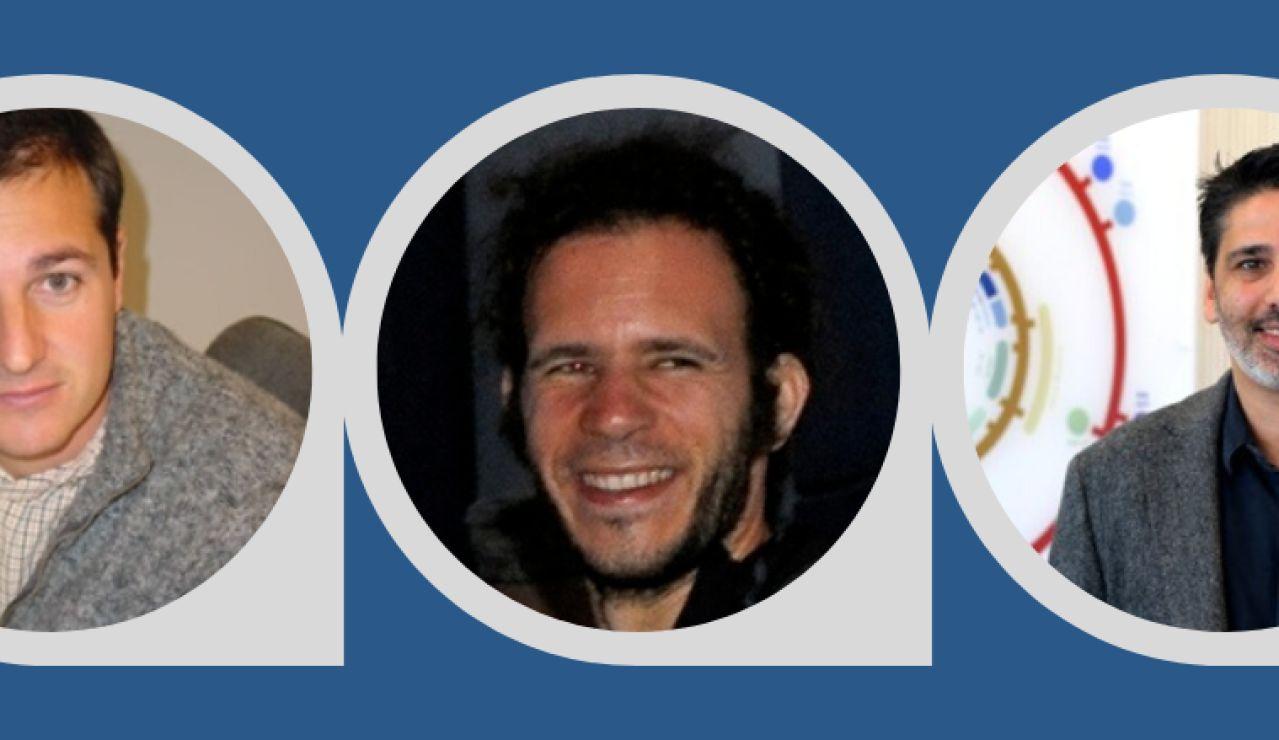 Gotzon Basterretxea, Idan Tuval y Joan Salvador Font Muñoz