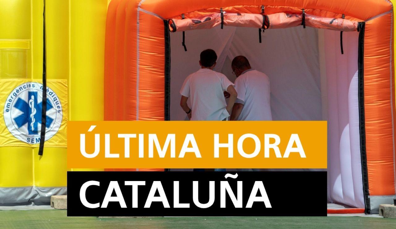 Cataluña: Rebrotes de coronavirus, datos y noticias de hoy viernes 10 de julio, en directo | Última hora Cataluña