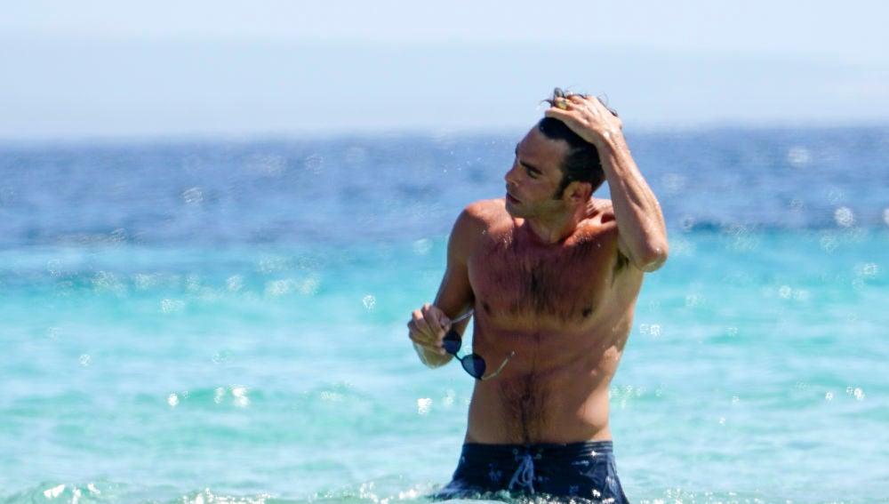Así sale Jon Kortajarena del mar...