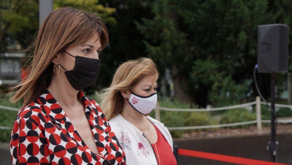 La candidata socialista en el País Vasco, Idoia Mendia.