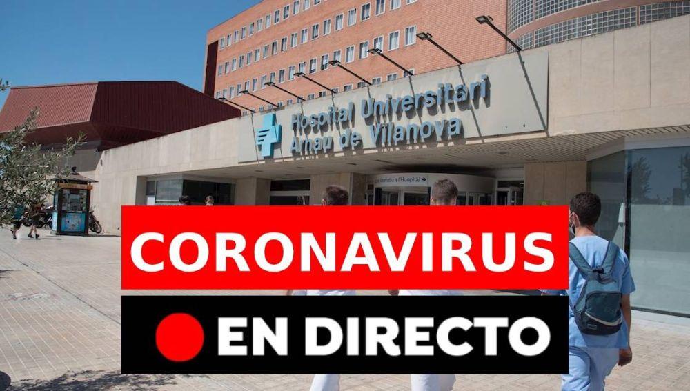 Coronavirus España hoy: Última hora de los rebrotes, nuevos casos y nueva normalidad, en directo