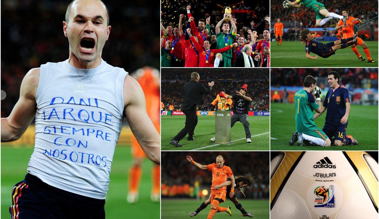 Todo lo que aún no sabes de la victoria de España en el Mundial de Sudáfrica una década después