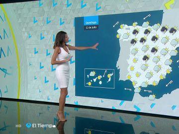 Tu Tiempo (11-07-20) Cielo despejado y ascenso de temperaturas hoy en la vertiente atlántica