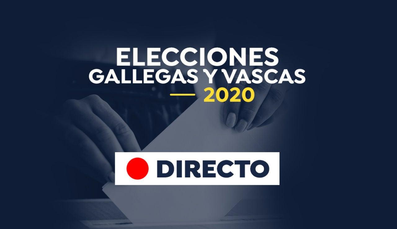 Elecciones Galicia y País Vasco: Última hora de las votaciones hoy, en directo