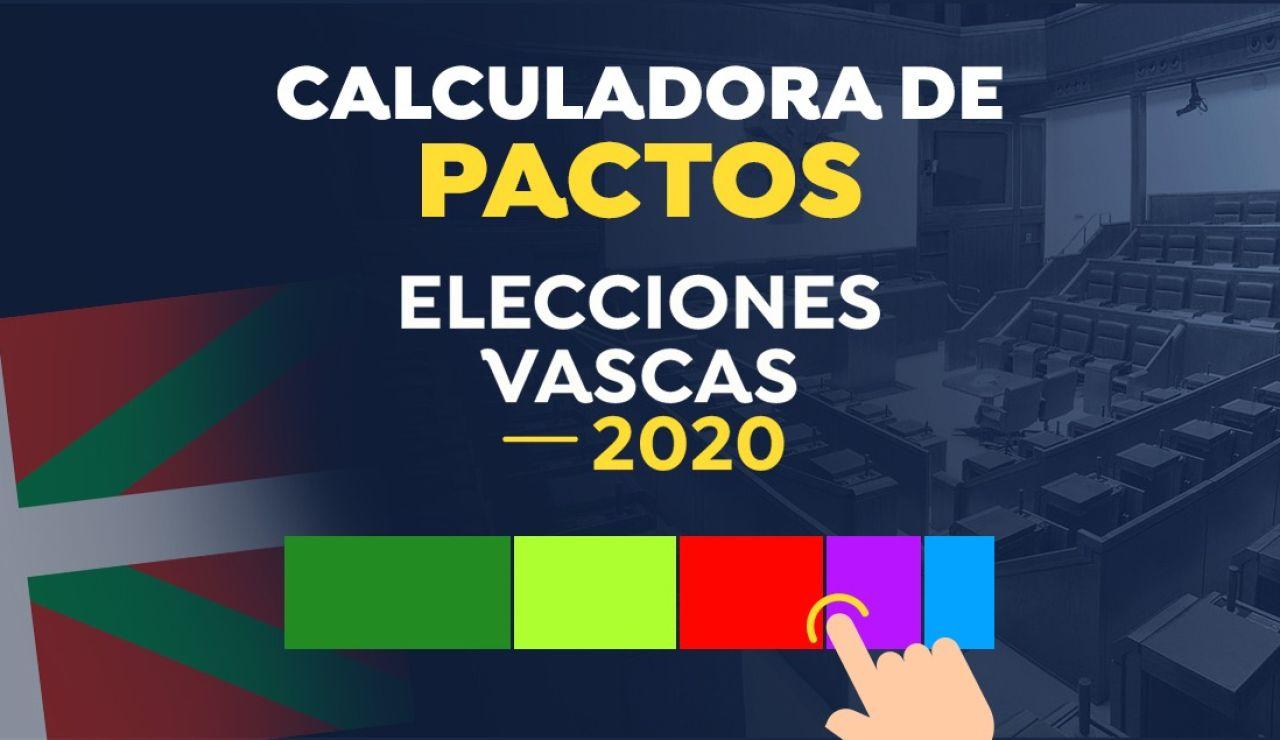 Calculadora de pactos Elecciones vascas 2020