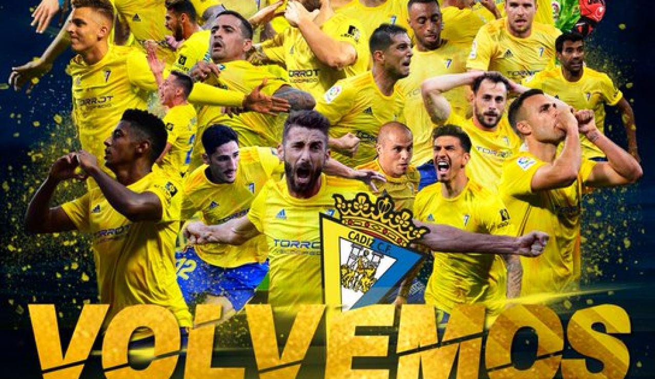 El Cádiz, nuevo equipo de Primera división