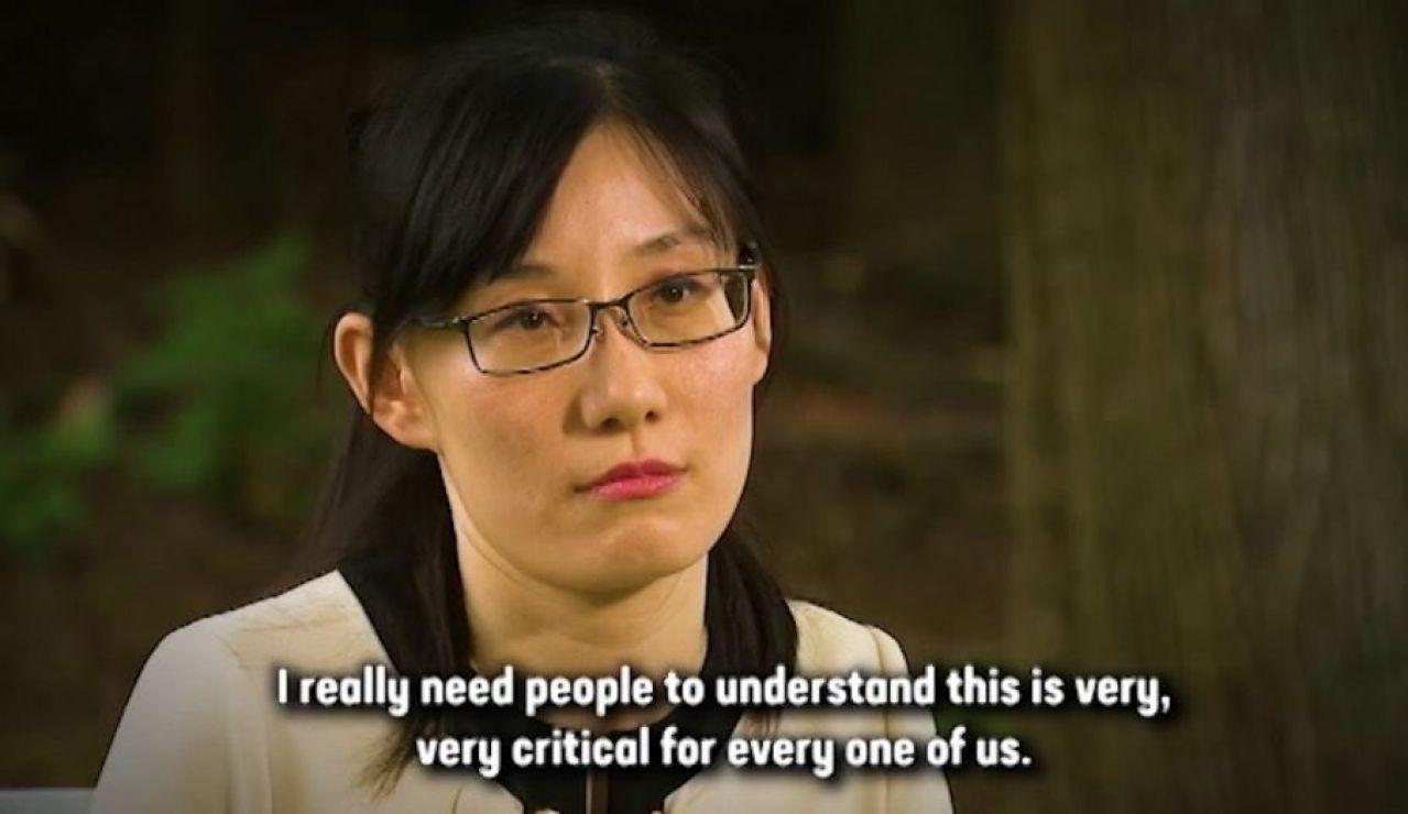 La viróloga china Li-Meng Yan