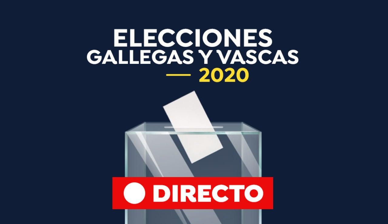 Resultado Elecciones País Vasco y Galicia 2020: Escrutinio y recuento, en directo | Elecciones gallegas y vascas 2020