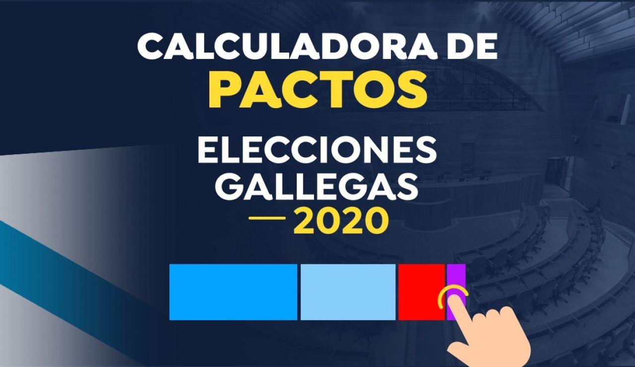 Calculadora de pactos elecciones gallegas 2020