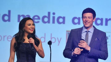 Naya Rivera junto a Cory Monteith