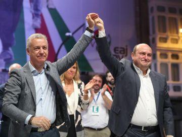 Iñigo Urkullu y Andoni Ortuzar