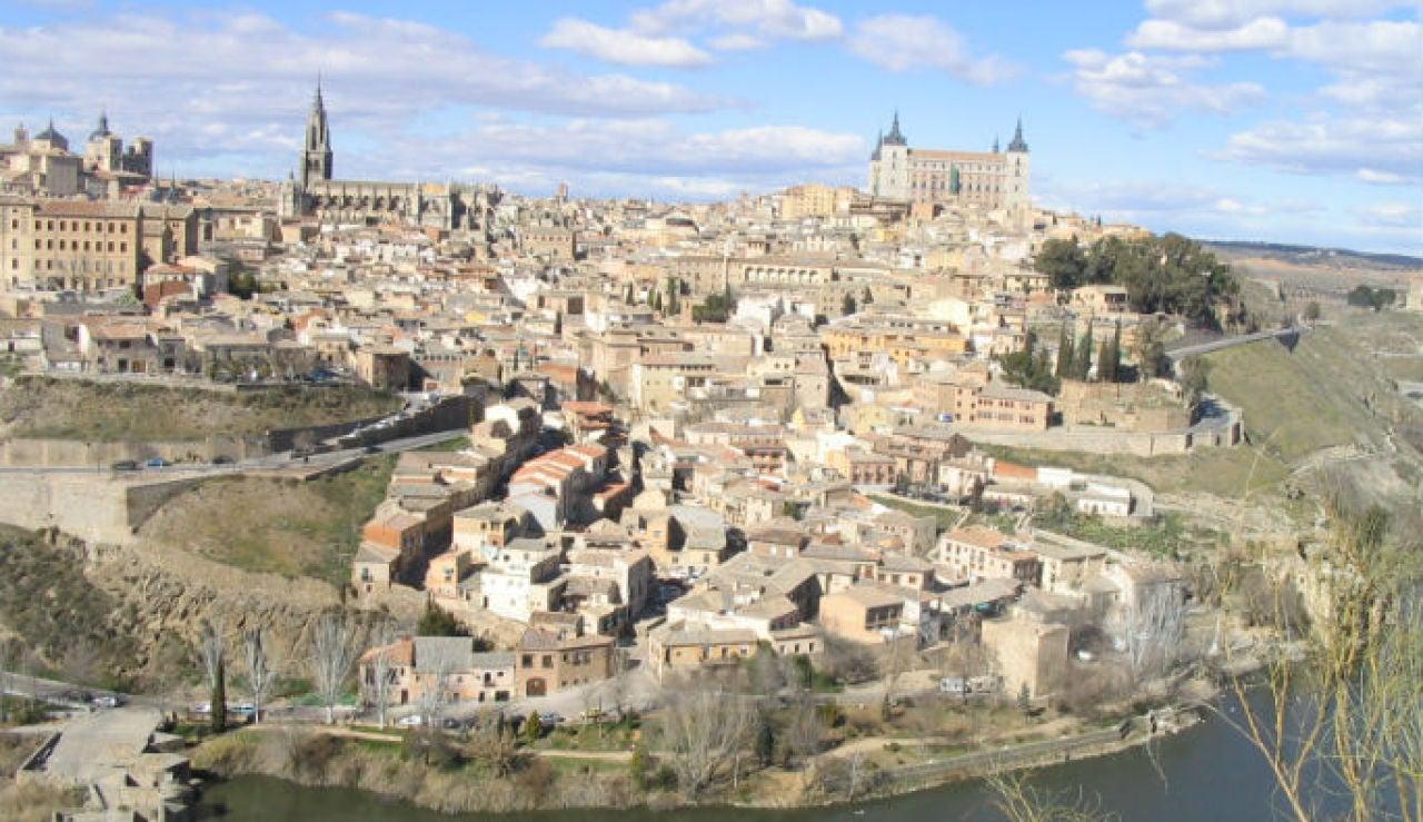 Panorámica de la ciudad de Toledo
