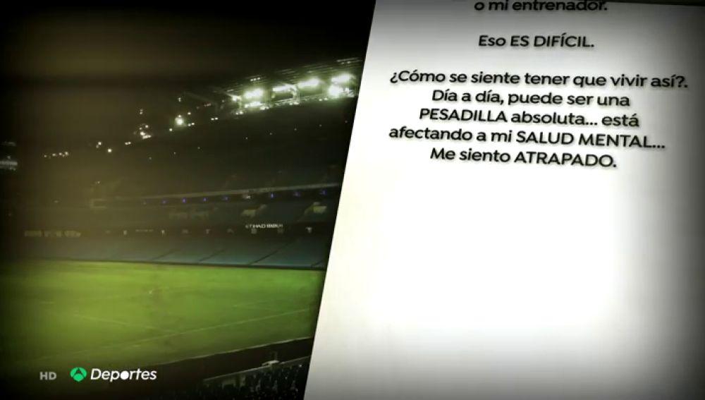 """La impactante carta de un futbolista homosexual de la Premier: """"No puedo decirlo en mi equipo, es una pesadilla"""""""