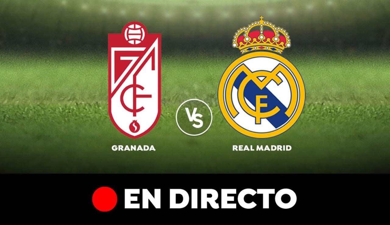 Granada - Real Madrid: Resultado y goles del partido de hoy, en directo | Liga Santander