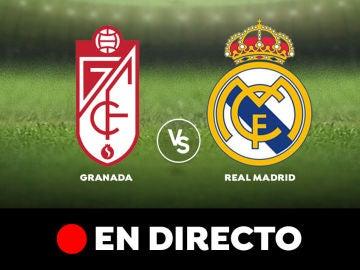 Granada - Real Madrid: Resultado y goles del partido de hoy, en directo   Liga Santander