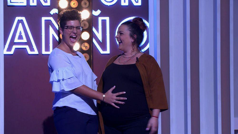 Ser madres, un sueño cumplido para María y Sara
