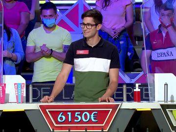 La gran suerte de Dani en 'La ruleta de la suerte'