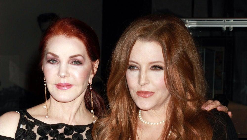 Priscilla Presley y Lisa Marie Presley