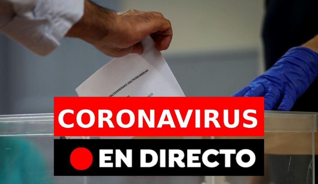 Coronavirus España hoy: Última hora de los rebrotes de coronavirus, casos y noticias, en directo