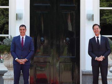 Pedro Sánchez y Mark Rutte