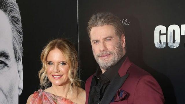 Kelly Preston junto a John Travolta