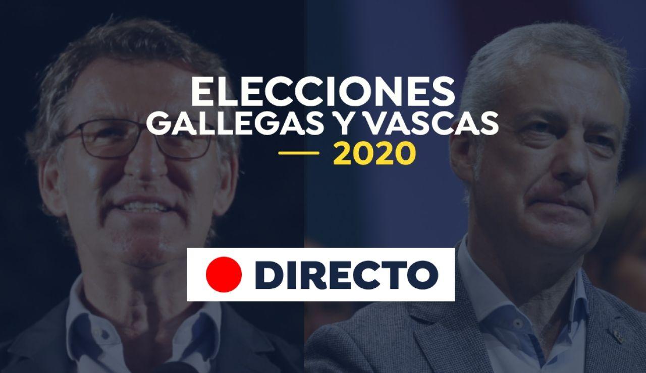 Resultados elecciones en País Vasco y Galicia 2020