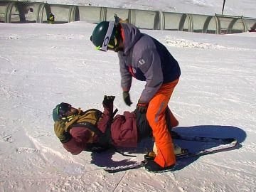 La inspiradora lucha de Nico por recuperar su pasión por el esquí perdida por un trágico accidente