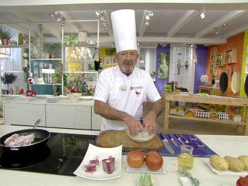Karlos Arguiñano concreta el tiempo perfecto de cocción del rabo según el tipo de ganado