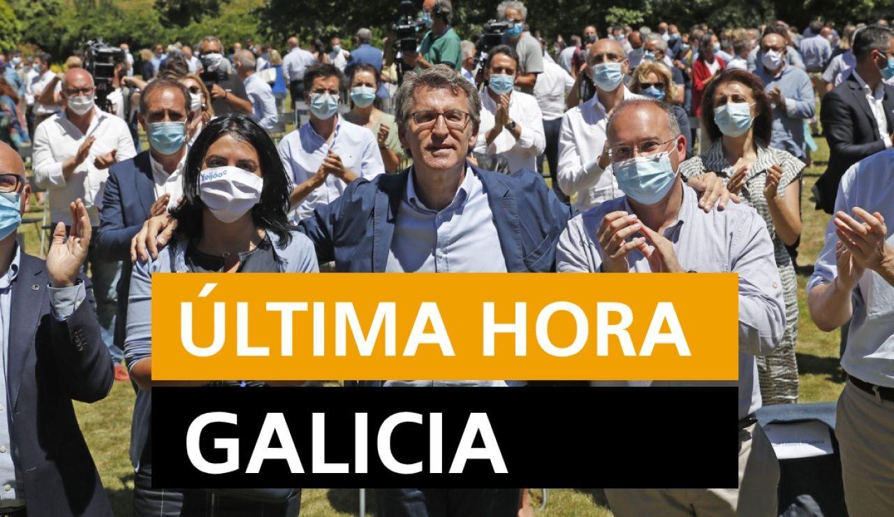 Coronavirus Galicia: Rebrotes y última hora de hoy martes, 14 de julio, en directo | Última hora Galicia