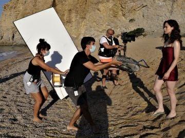El rodaje de 'Alba', la nueva serie de Antena 3, llega a la Costa Blanca