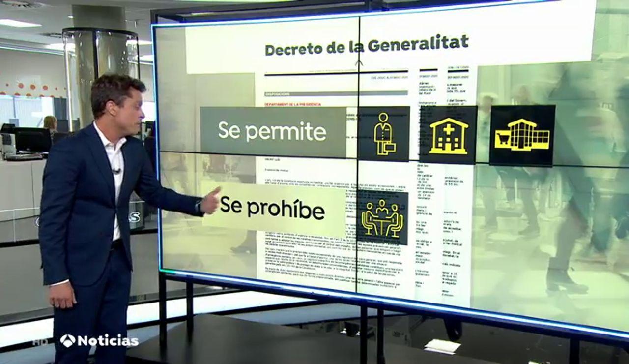 Incertidumbre en Lleida y en siete municipios sobre si tienen que realizar el confinamiento propuesto por el Govern