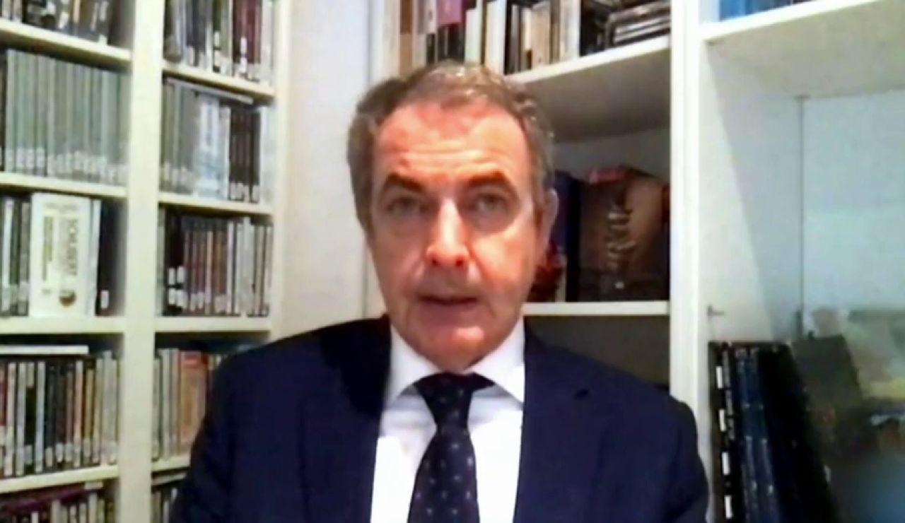 """Zapatero pide """"serenidad"""" ante la investigación a las finanzas del Rey y si hay que cambiar las leyes """"hágase"""""""